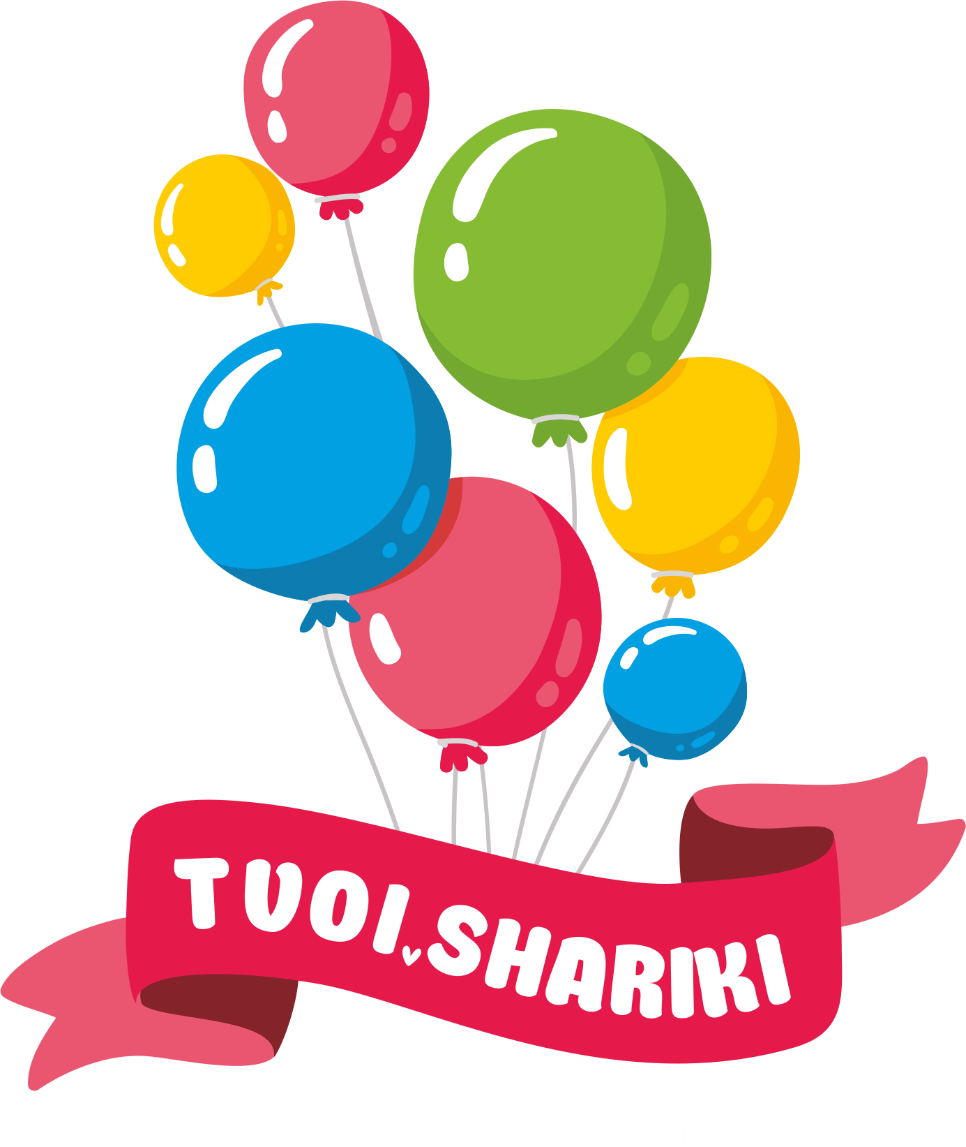 Логотип TVOI.SHARIKI - гелиевые шарики Нижний Новгород